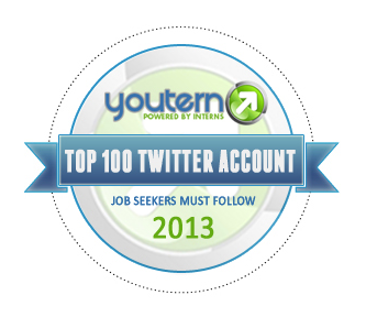 YouTern Top 100 Twitter Accounts to Follow 2013 - Dana Leavy-Detrick