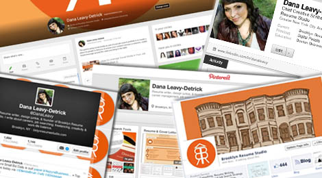 Personal Social Media Brand Portfolio - Brooklyn Resume Studio - Career Coaching, resume writing, linkedin profile development, social media and job search strategy tools