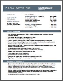 Brooklyn Resume Studio - Career Coaching, Resume Writing, LinkedIn Profile Development & Job Search Strategy Tools - Resume Samples