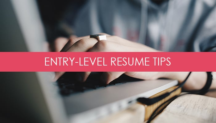 Top Resume Tips for Entry-Level Job Seekers
