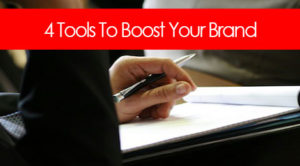Tools for boosting your brand
