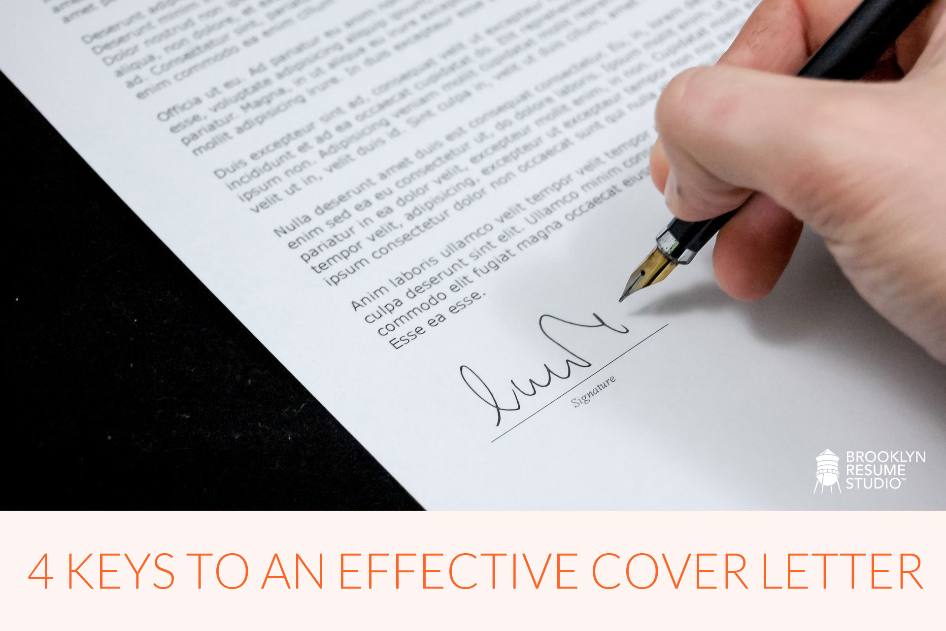 3 Ways to Start Your Cover Letter