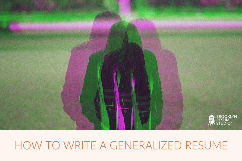 generalist resume