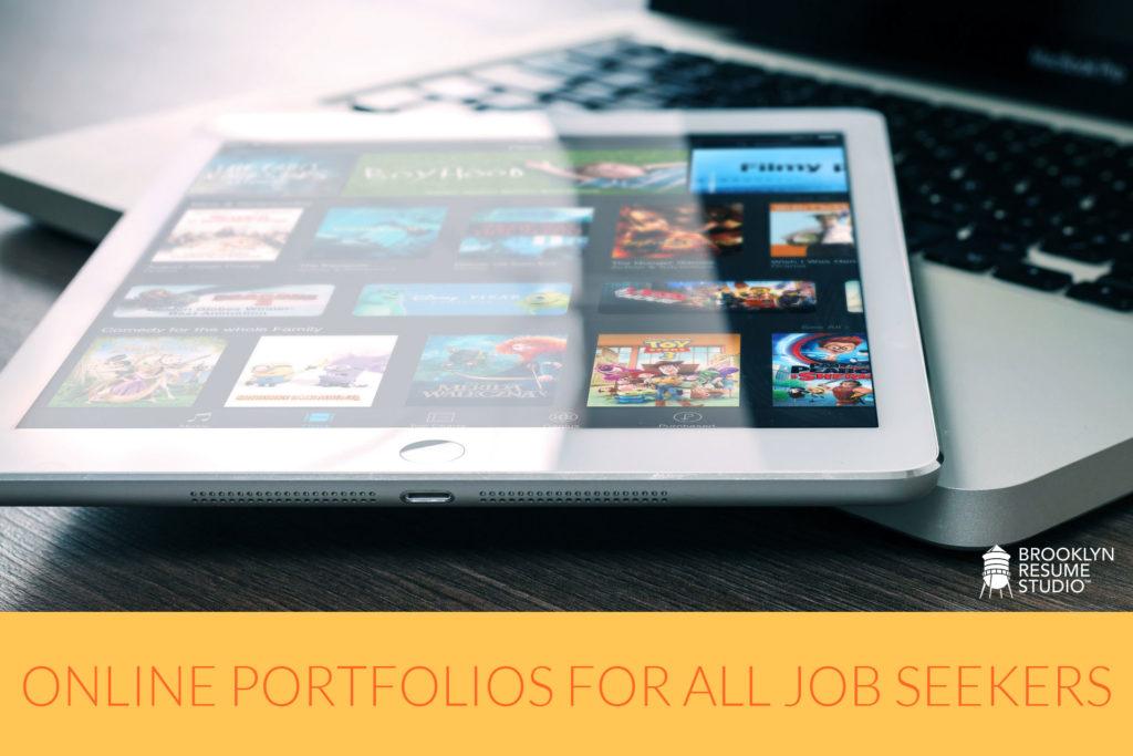 Digital Portfolios For Any Job Seeker
