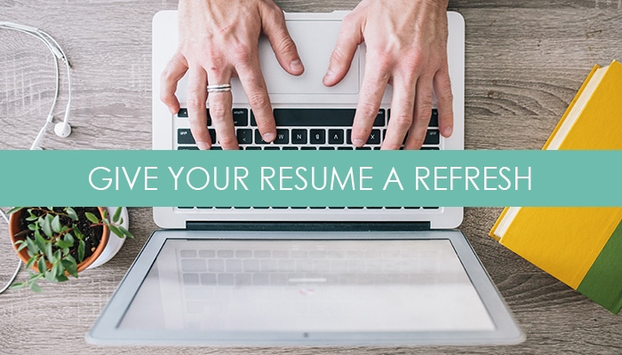 Give Your Resume a Refresh