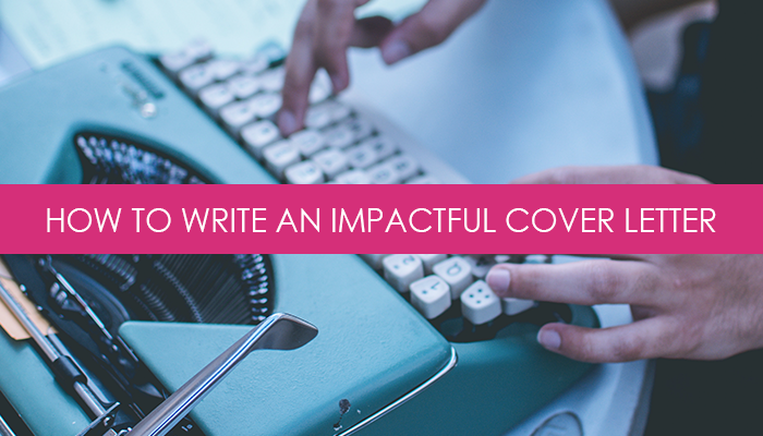 Formula For Writing An Impactful Cover Letter