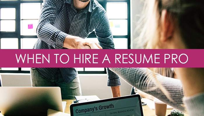 should i hire a professional resume writer