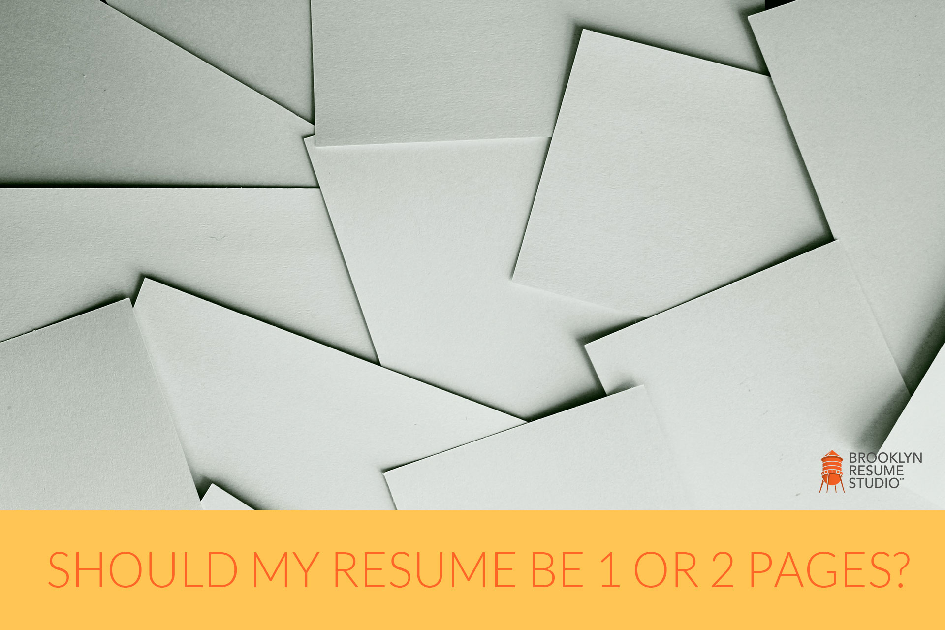 How Long Should a Resume Be?