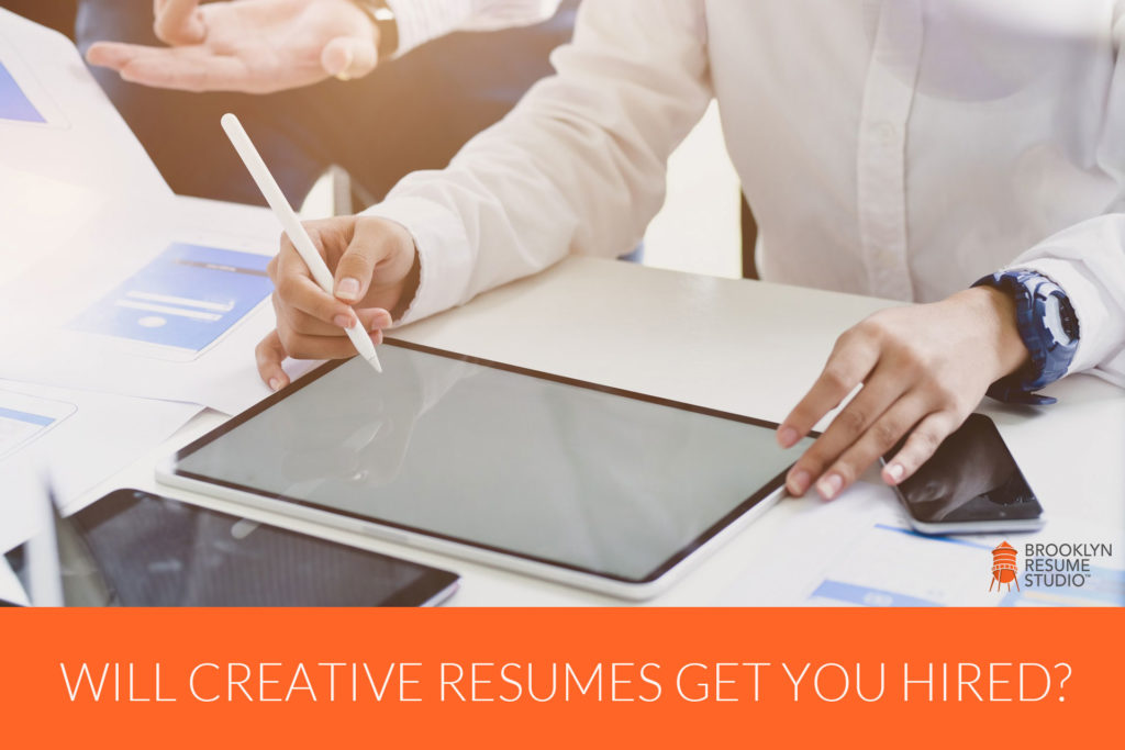 Here's the Thing About Creative Resume Designs...