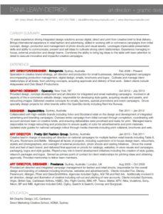 Brooklyn Resume Studio-Sample Resume 16