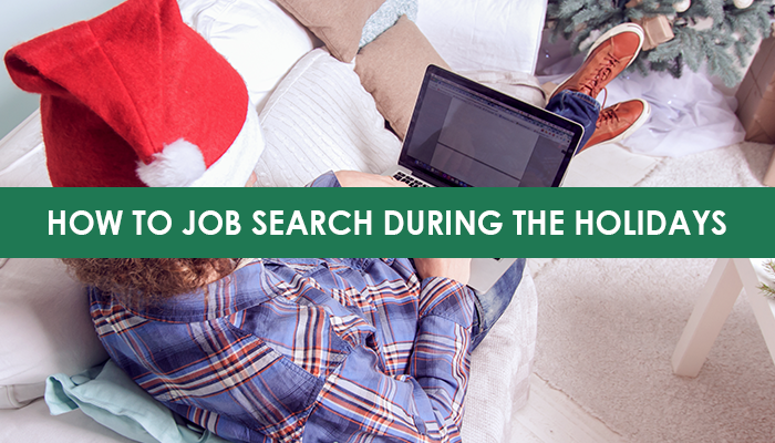 job search during holidays