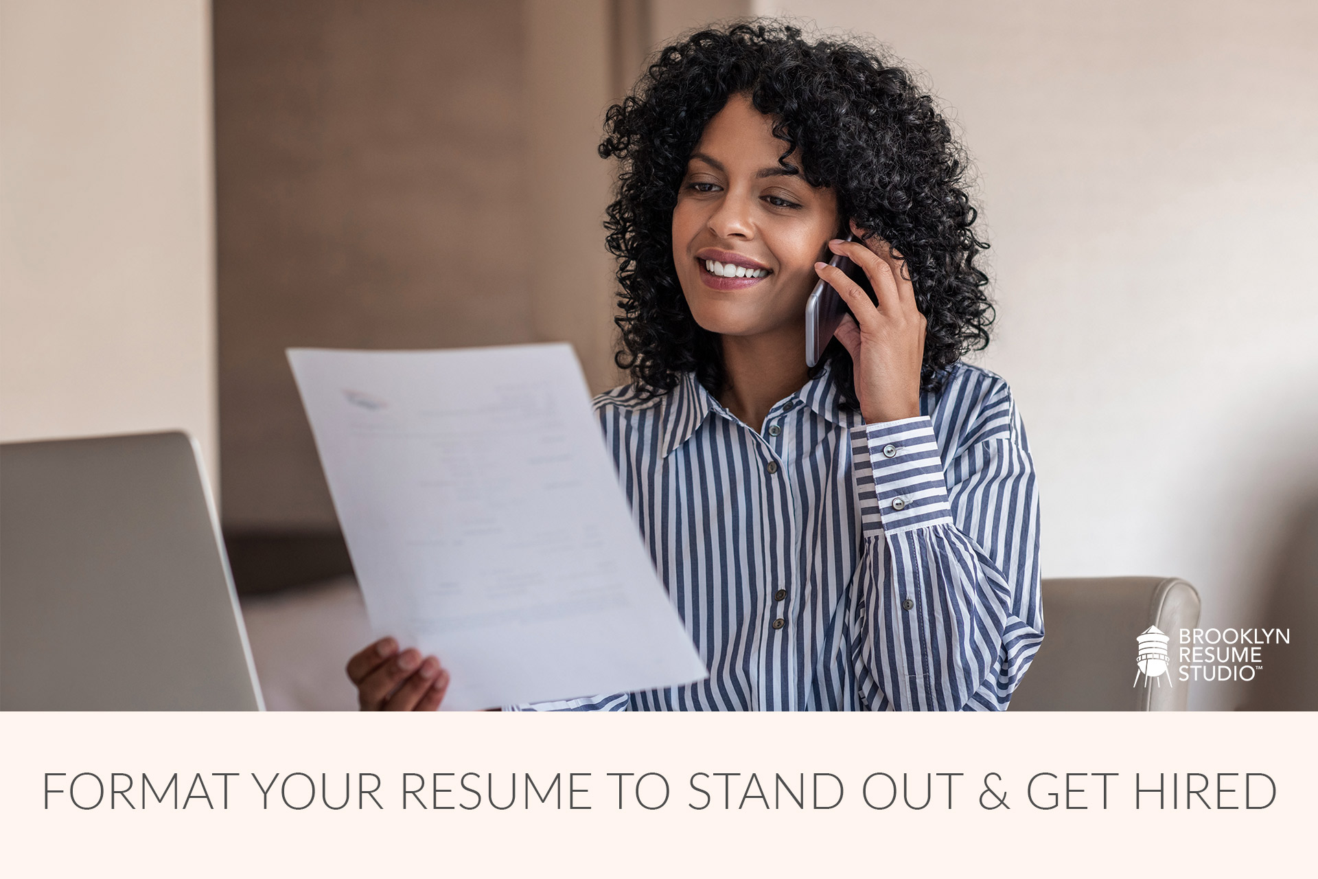 how to format my resume