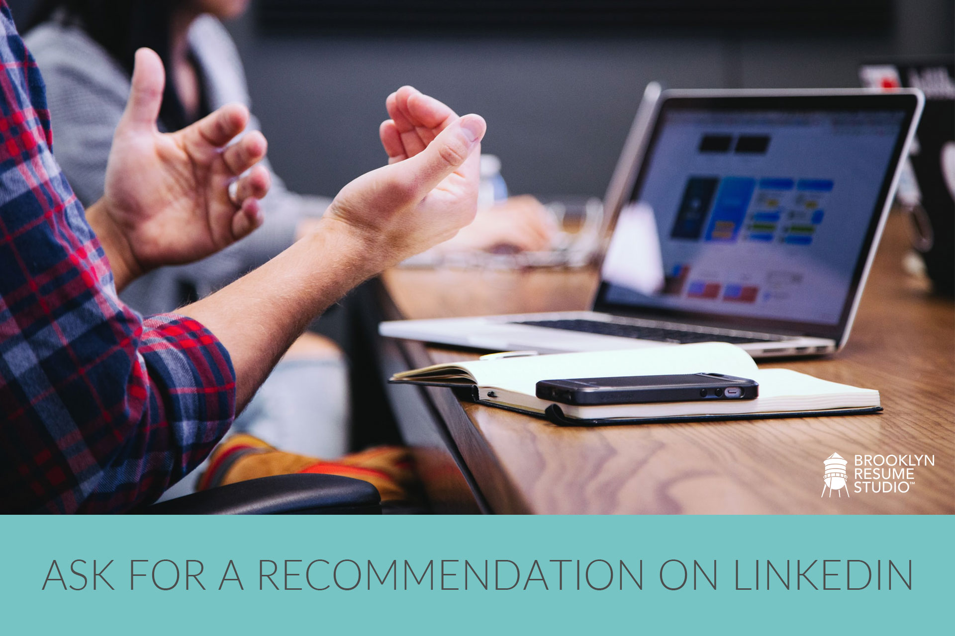 ask someone for a recommendation on LinkedIn
