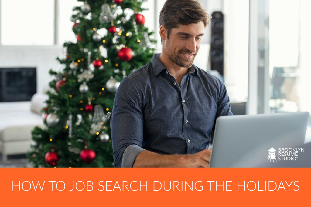searching for a job during the holidays